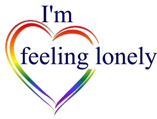 Loneliness NZ square I'm feeling lonely logo