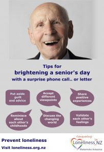 Brightening a seniors day tips