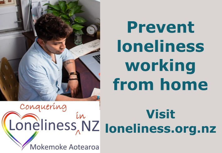 Prevent loneliness working from home