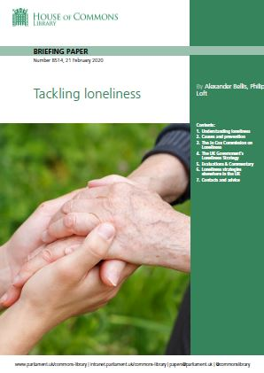 Tackling loneliness - First progress report - cover page